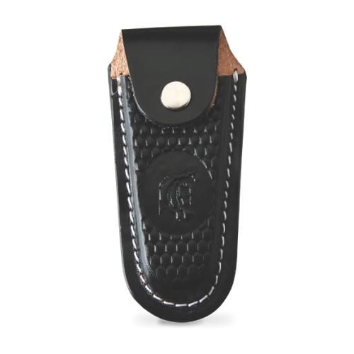 Canivete Bianchi Alumínio Madeira Com Bainha 3 Polegadas 10102/22B  - Casafaz
