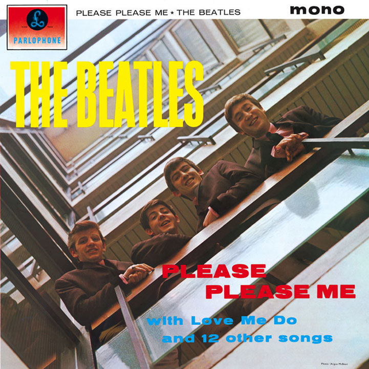 LP The Beatles Please Please Me 180g MONO