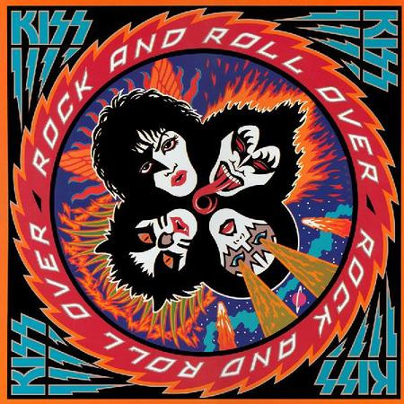 Lp Kiss Rock N Roll Over 180g