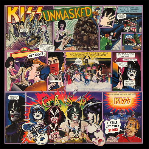 Lp Kiss Unmasked 180g