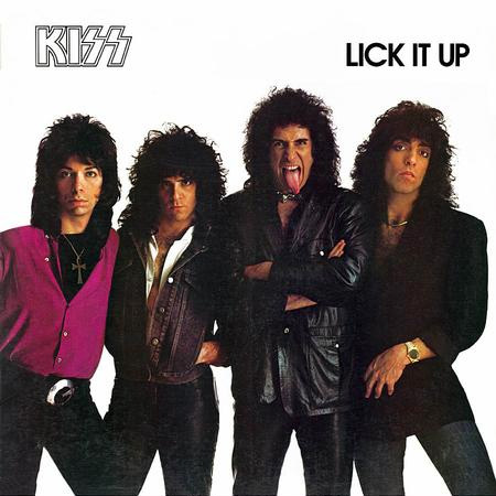 Lp Kiss Lick It Up 180g
