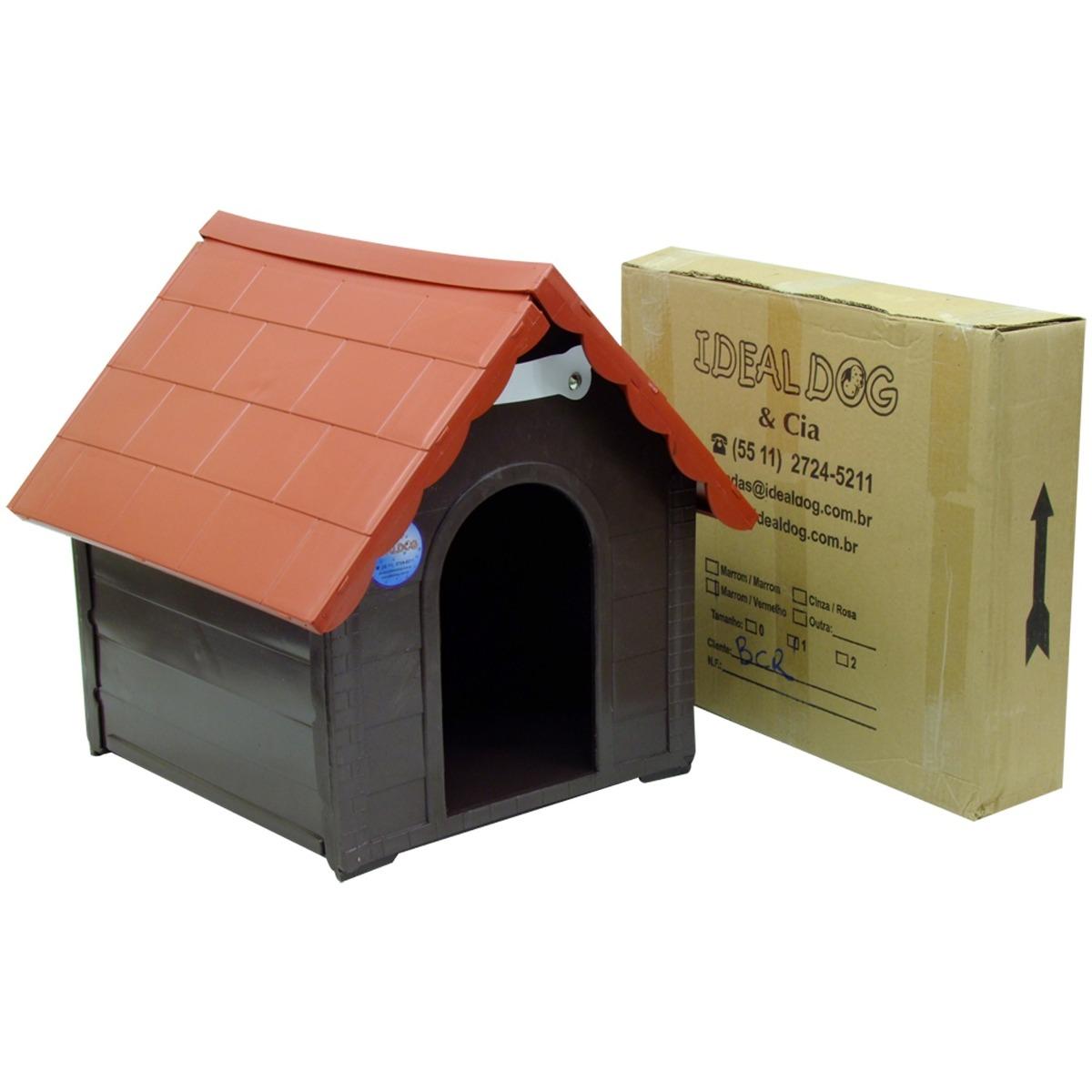 Casa Para Cães Plástica Desmontável P 36 X 28 X 35  - Casafaz