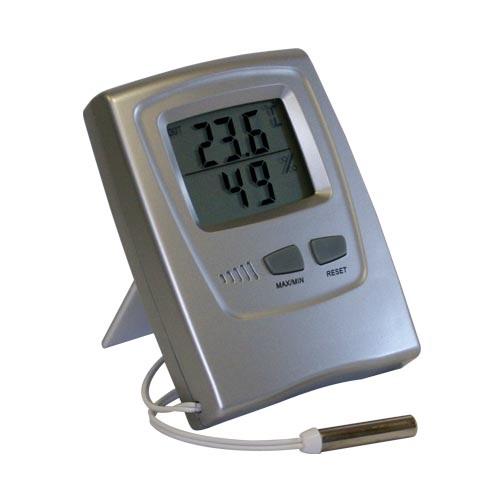 Termo Higrômetro Digital Temperatura Interna Externa Umidade Interna