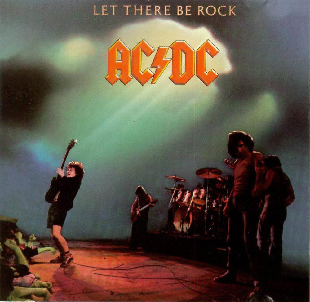 LP AC/DC Let There Be Rock 180g  - Casafaz