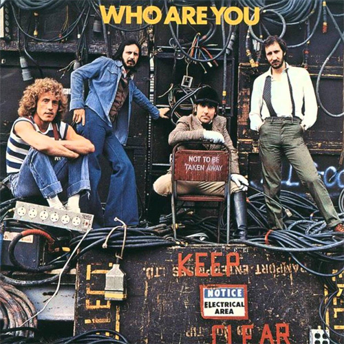 LP The Who Who Are You 180g  - Casafaz