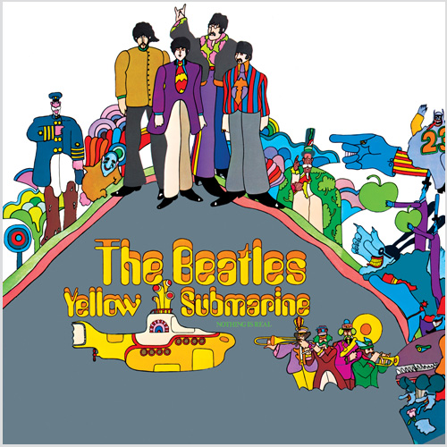 LP The Beatles Yellow Submarine 180g  - Casafaz