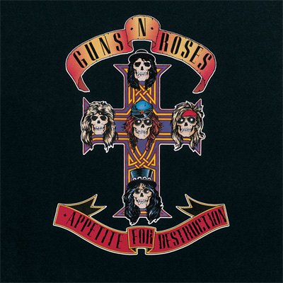 Lp Guns N Roses Appetite For Destruction 180g  - Casafaz