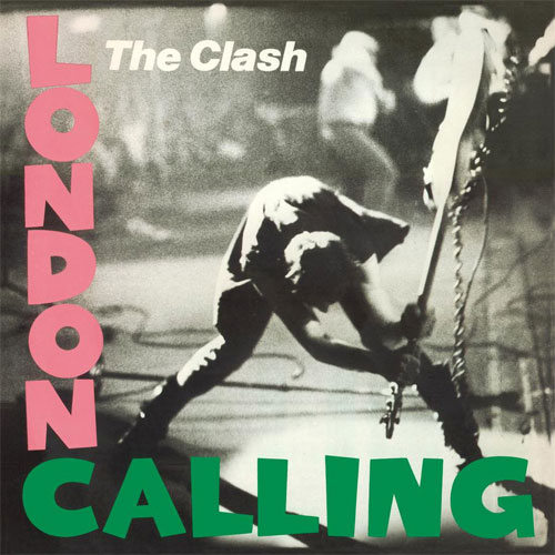 Lp The Clash London Calling  DUPLO 180g  - Casafaz