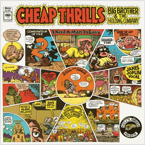 Lp Big Brother And The Holding Company Cheap Thrills 180g  - Casafaz