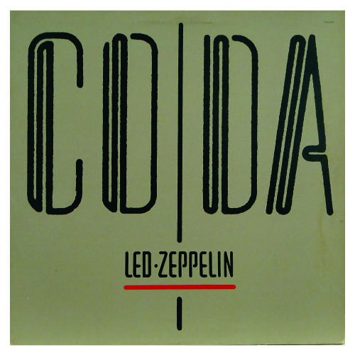 Lp Led Zeppelin Coda 180g  - Casafaz
