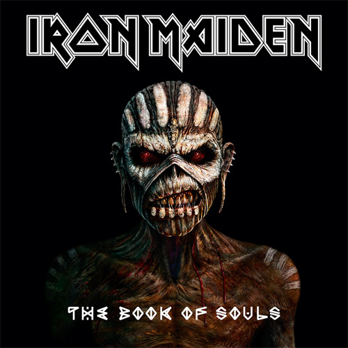 Lp Iron Maiden The Book of Souls 180g TRIPLO