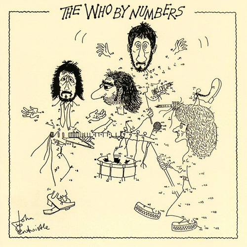 LP The Who By Numbers 180g  - Casafaz