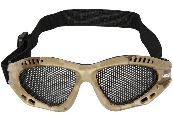 Óculos de Proteção Airsoft Kobra Camuflado Nautika
