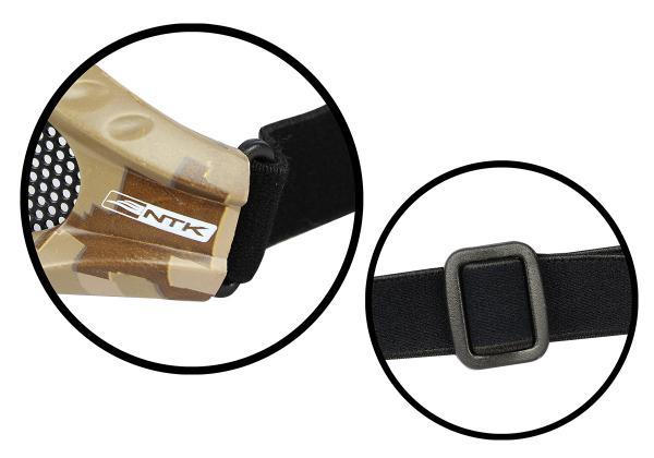 Óculos de Proteção Airsoft Kobra Camuflado Nautika  - Casafaz