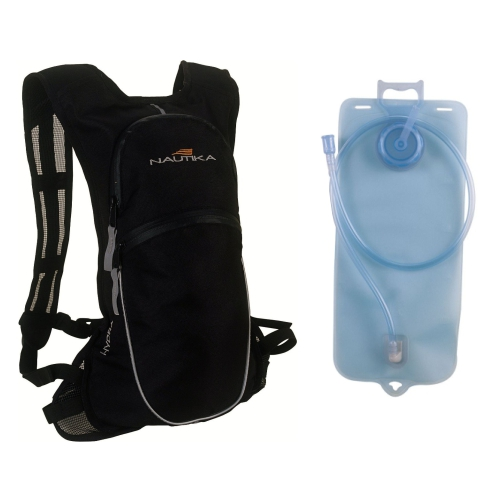 Mochila Hidratação Hydra + Bolsa Hidrabag 2lt Nautika