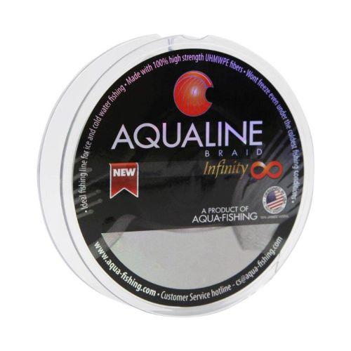 Linha Multifilamento Aqualine Infinity 8 60 Lb 0,42mm 100 Metros