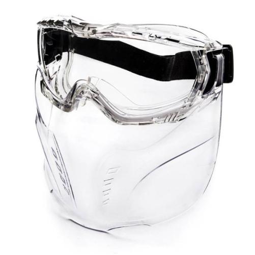 Óculos  de Proteção com Mascara V-Mask Incolor Steelpro Airsoft