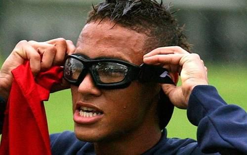 Oculos Tech Proteção Futebol Basquete Voley Sem Clip Interno  - Casafaz