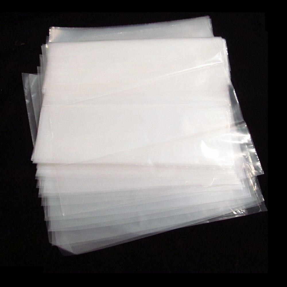Plásticos Externo Para Lp Disco De Vinil 32 x 32 x 10 Com 90 Unidades