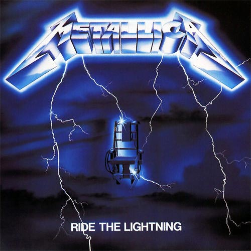 Lp Metallica Ride the Lightning 180gr  - Casafaz