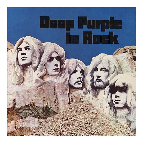 Lp Deep Purple In Rock Half Speed Mastered 180gr