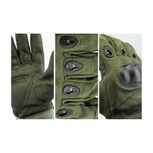 Luva Tática Militar Airsoft Paintball Albatroz Verde  - Casafaz