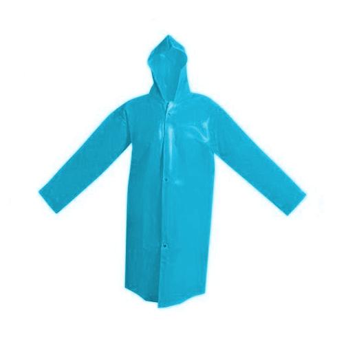 Capa De Chuva Azul Impermeável Soldasul