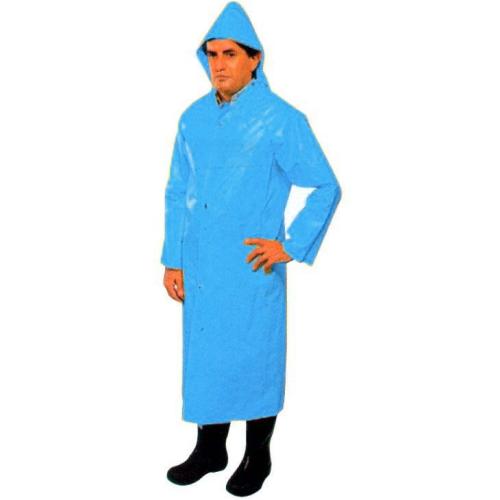 Capa De Chuva Azul Impermeável Soldasul  - Casafaz