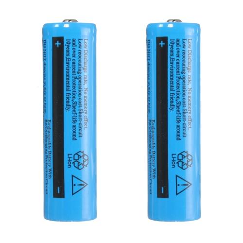 Bateria Recarregável Li-ion MSX 18650 8800mAh 4.2v 2 Unidades