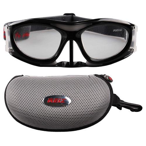 Óculos Eyki De Futebol Basquete Preto Com Protetor Nasal + Case