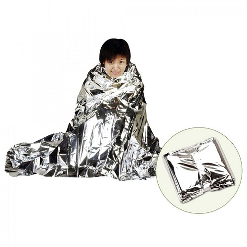 Saco de Dormir Emergência Alumínio Guepardo   - Casafaz