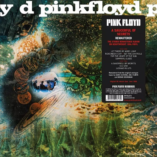 Lp Pink Floyd Saucerful Of Secrets 180g Reedição 2016  - Casafaz