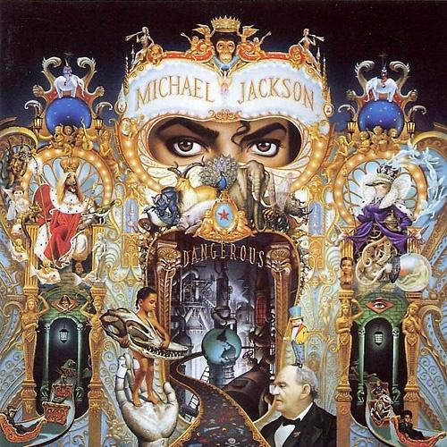 Lp Michael Jackson Dangerous Duplo