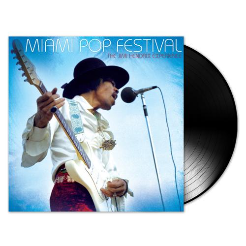 Lp Jimi Hendrix Miami Pop Festival 200gr Duplo  - Casafaz
