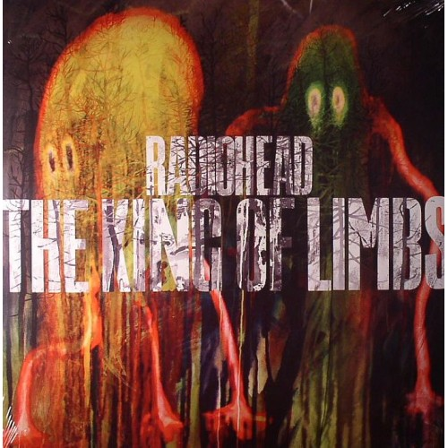 Lp Radiohead The King of Limbs 180g  - Casafaz