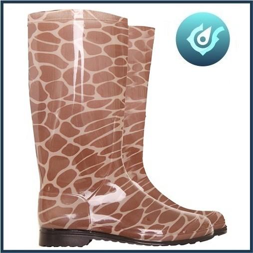 Galocha Calfor Girafa Marrom M35