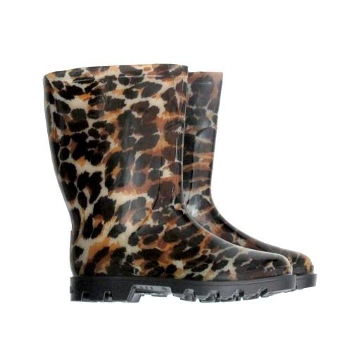 Galocha Calfor Cano Curto Leopardo M1