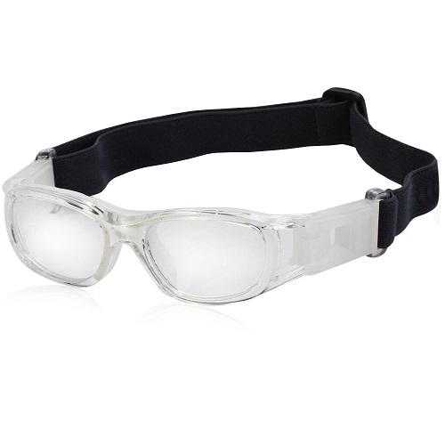 Óculos Eyki De Futebol Basquete Incolor Infantil + Case   - Casafaz