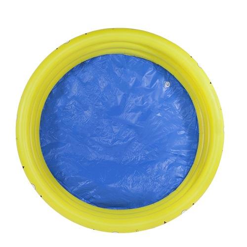 Piscina Banheira 300 Litros Amarela Nautika   - Casafaz