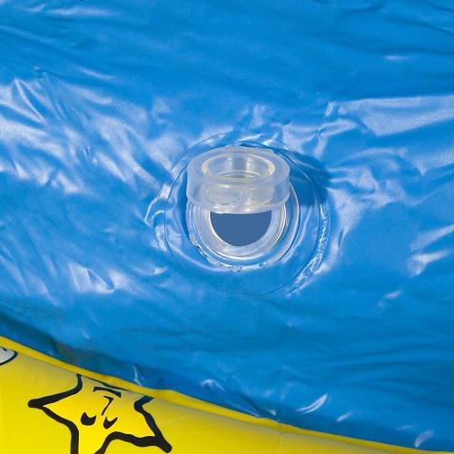 Piscina Banheira 500 Litros Amarela Nautika   - Casafaz