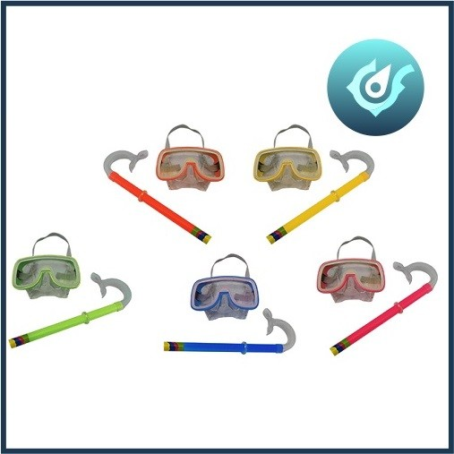 Conjunto Para Mergulho Kit Mascara + Snorkel Respirador Western