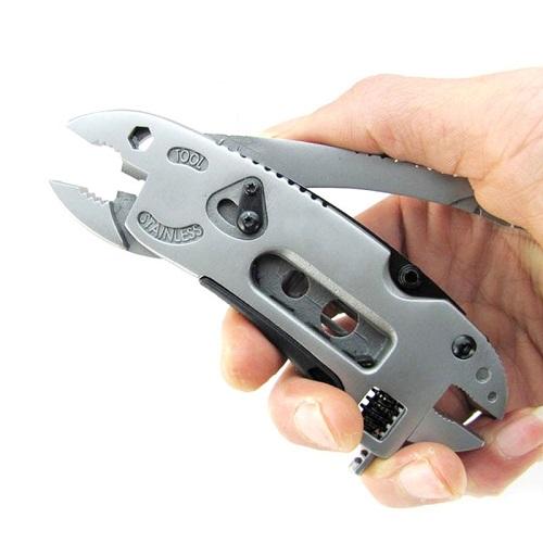 Multi Ferramenta Alicate Chave Inglesa Canivete 7x1  - Casafaz