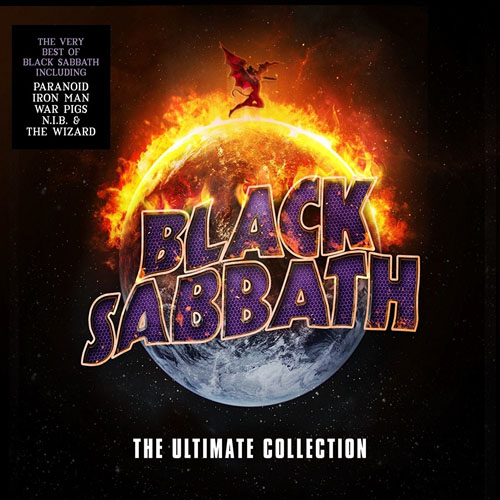 Lp Black Sabbath The Ultimate Collection Box 4 Lps 180gr  - Casafaz