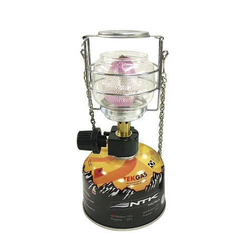 Lampião Cairo + 1 Cartucho De Gás Tekgas Nautika