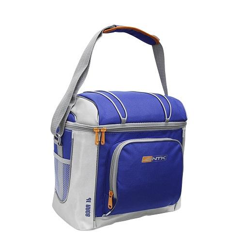 Bolsa Térmica Cooler Bora 16 Latas Azul Nautika  - Casafaz
