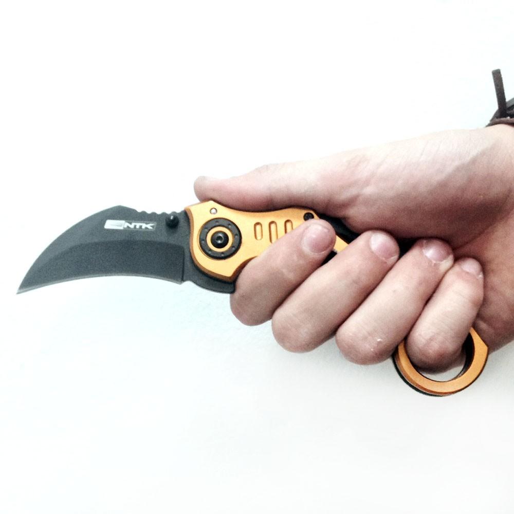 Canivete Bullet Nautika Aço inox  - Casafaz