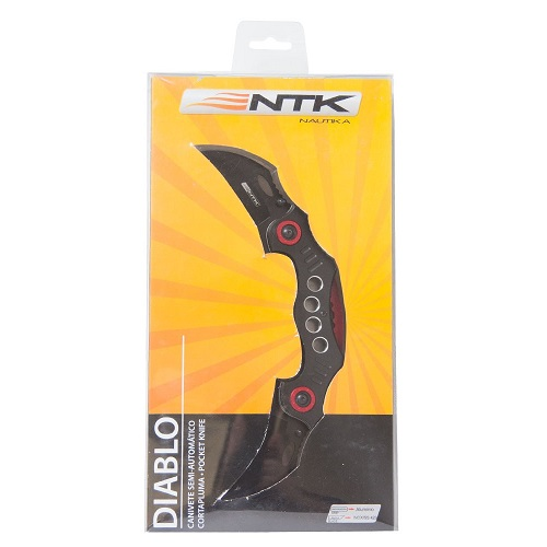 Canivete Diablo Nautika Aço inox  - Casafaz
