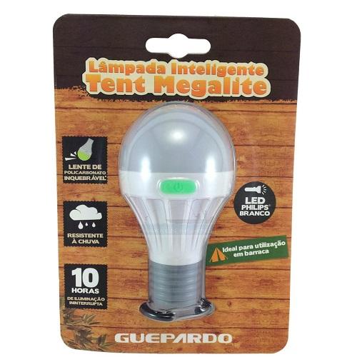 Lâmpada Inteligente Tent Megalite + Pilha Guepardo  - Casafaz