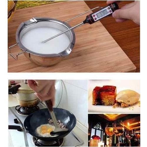 Termômetro TP101 Culinário Digital Espeto Alimento Cozinha   - Casafaz