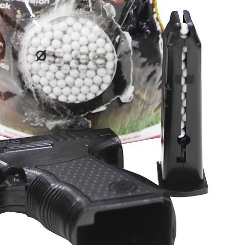 Esferas para Airsoft 0,12g 6mm Velozter 1000 Unds Nautika Granel  - Casafaz